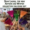 Dear Ladies, The New Autumn And Winter Collection Has Come Out
