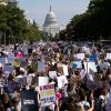 Hundreds of marches take place nationwide as protesters decry 'unprecedented attack' on reproductive rights