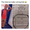 The internet really ruining kids